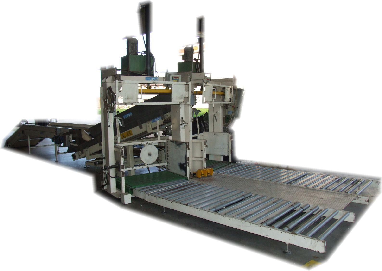 Impianto cernita e confezionamento tabacco